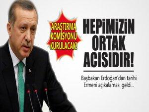 Başbakan Erdoğan'ın Ermeni Olayları İle İlgili Mesajı