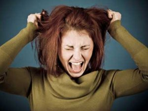 Stres Çocuklarda Saç Baş Yolduruyor