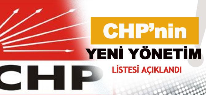CHP'nin Yeni Yönetim Kadrosunda Kimler Var