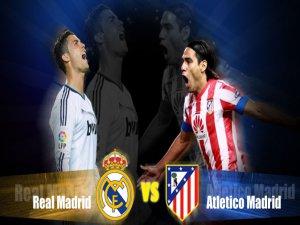 Atleticho Madrid ve Real Madrid Maçının Golleri