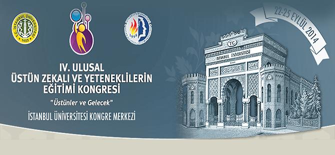 4. Ulusal Üstün Yetenekliler Eğitim Kongresi