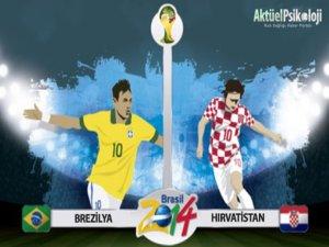 Brezilya Hırvatistan Maçı'nın Golleri - Video