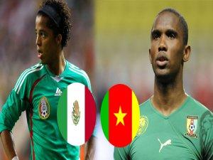 Meksika Kamerun Maçının Sonucu ve Golleri