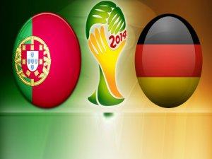 Almanya Portekiz Maçının Golleri - 4-0 VİDEO