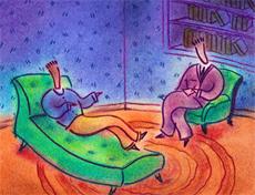 Psikiyatri hastası gençlere terapi