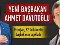 Yeni Başbakan Dişişleri Başkanı Ahmet Davutoğlu