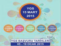 2015 YGS Başvuru Kılavuzu