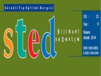 Sürekli Tıp Eğitim Dergisi (STED) 6. Sayı