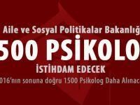 Aile Bakanlığı 1500 Psikolog Alacak