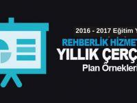 2016-2017 Rehberlik Planları