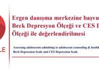 Ergenlerin Beck VE Ces Depresyon Ölçekleriyle Değerlendirilmesi