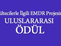Mültecilerle İgili EMDR Projesi'ine Uluslararası Ödül