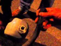 Genzine benzin kaçan kişi öldü
