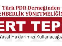 Türk PDR Derneğinden Rehberlik Yönetmeliğine Sert Tepki