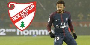 """Neymar'dan Boluspor'a """"piyango"""" desteği"""