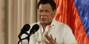 Rodrigo Duterte'nin psikolojik tedaviye ihtiyacı var