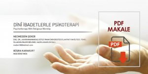 Dini İbadetlerle Psikoterapi - Makale PDF