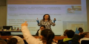 Altınbaş Çocuk Üniversitesi'nden sağlık dersi