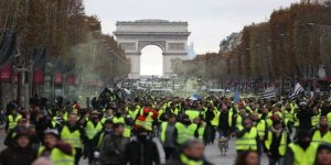 Fransa'da sarı yelekliler protestosu başladı (Hayat durdu)