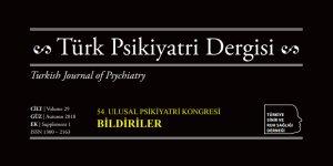 54. Psikiyatri Kongresi Bildirileri TPD Ek Sayısı