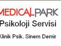 Klinik Psikolog Sinem Demir Medical PARK Fatih / İstanbul