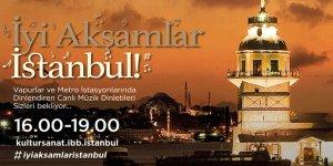 İstanbullular Evlerine Müzikle Dönüyor