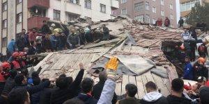 Kartal'da 8 katlı bina çöktü