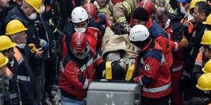Kartal'da çöken binada 45 saat sonra mucize kurtuluş (Ölü sayısı 14'e yükseldi)