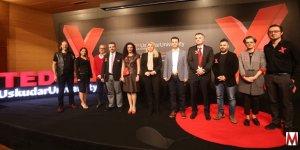 TEDx Uskudar University Değişen dünya ve psikolojik konulardan söz etti.