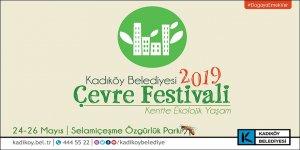 3. Kadıköy Çevre Festivali Başlıyor