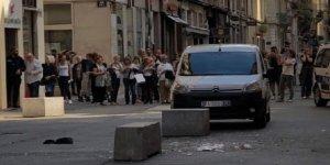 Fransa'da bombalı saldırı: Çok sayıda yaralı var