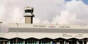 Suudi Arabistan'ın güneyindeki Abha Havalimanı'na bir füze düştü.