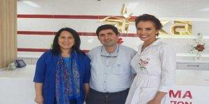 Ünlü sunucu Psikolog Yelda Başaran  Anka'ya hayran kaldı