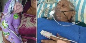 73 yaşındaki kadın ikiz doğurdu, 82 yaşındaki baba ertesi gün inme geçirdi