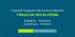 Psikolojik Testler Eğitimi İstanbul