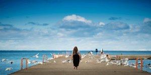 Yağmur Sonrası Deniz Kenarında Yürüyüş Ozon Tedavisi Etkisi Yaratıyor
