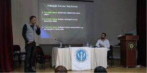 Toros Üniversitesi'nde 'Travmaya yaklaşım ve müdahaleler' söyleşisi