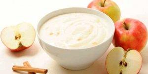 """""""Probiyotik dengesi için yoğurdun yanında elma da tüketin"""""""