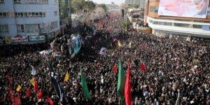 Kasım Süleymani'nin cenaze töreninde izdiham yaşandı, ölü sayısı 50'yi aştı
