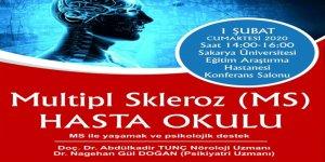 """SAÜEAH'ta """"MS ile yaşamak ve psikolojik destek"""" konferansı"""