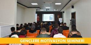 MADEM'den Gençlere Motivasyon Semineri
