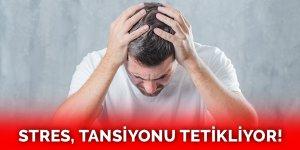 Stres tansiyonu tetikler mi? Strese bağlı ve psikolojik tansiyon belirtileri nelerdir?