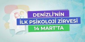 Denizli'nin ilk psikoloji zirvesi 14 Mart'ta!