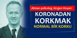 Profesör Hoyer: Korona Virüs Korkusu Normal Bir Korku