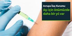 Avrupa İlaç Kurumu: Aşı için önümüzde daha bir yıl var