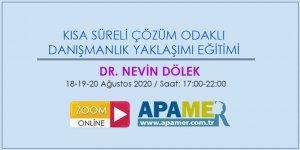 Kısa Süreli Çözüm Odaklı Danışmanlık Eğitimi 2020