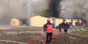 Havai fişek fabrikasında patlama: 2 ölü, 73 yaralı