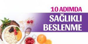 10 Adımda Sağlıklı Beslenme Tabağı