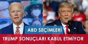 ABD seçimleri: Trump sonucu kabul etmiyor