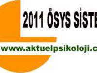 2011 ÖSYS Tercihlerinde Kazanmanın Şifresi